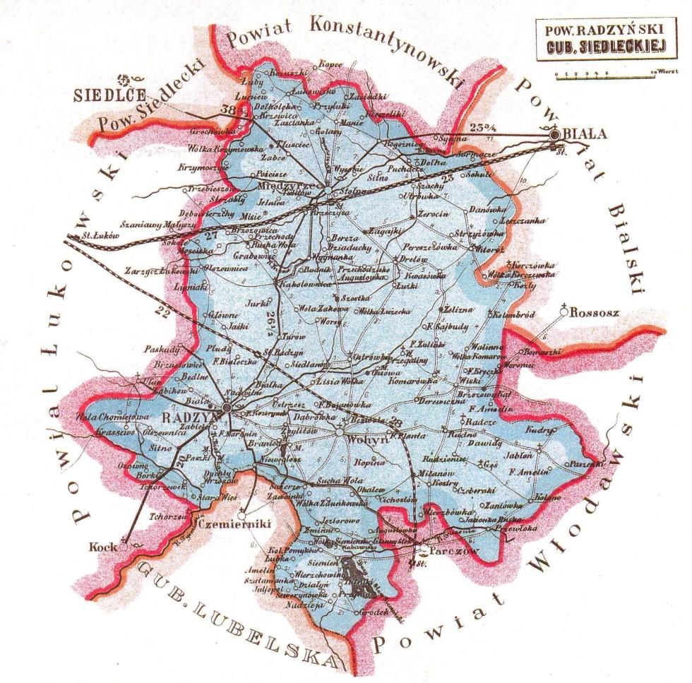 Atlas geograficzny ilustrowany Królestwa Pol. pod red. J.M. Bazewicza, W-wa 1907