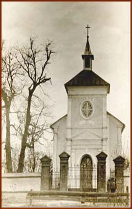 Nieistniejący kościół św. Piotra i Pawła, fundacji Cecylii Wysiekierskiej.
