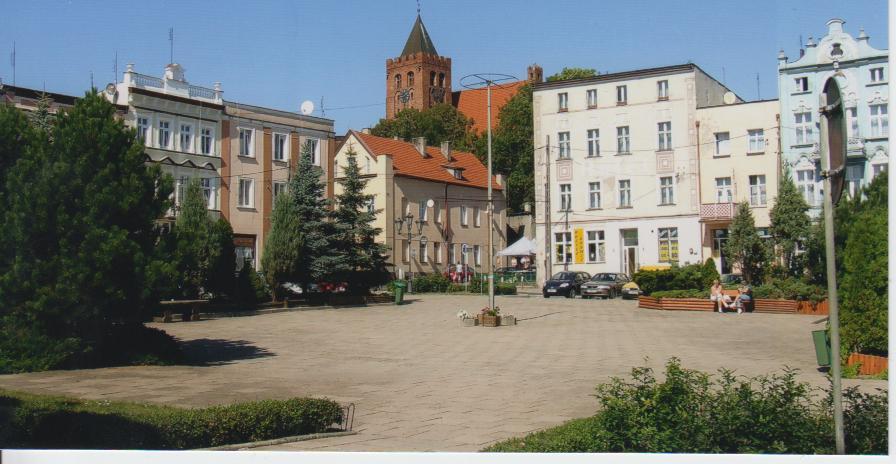 Rynek w Nowem, fot. JW, 01 09 2009