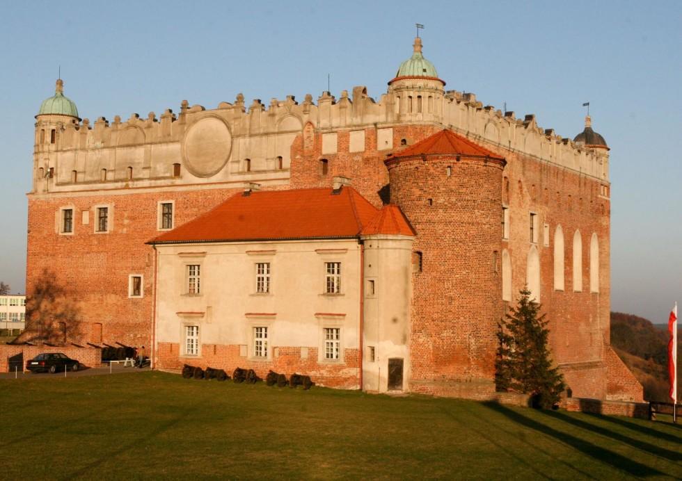 Zamek w Golubiu - Dobrzyniu w drodze powrotnej, fot. Daniel